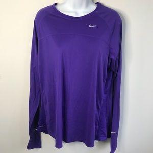 Nike Running Longsleeve Womens Top Size 1X